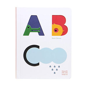 ABC Touch, Think, Learn Hard Cover Book