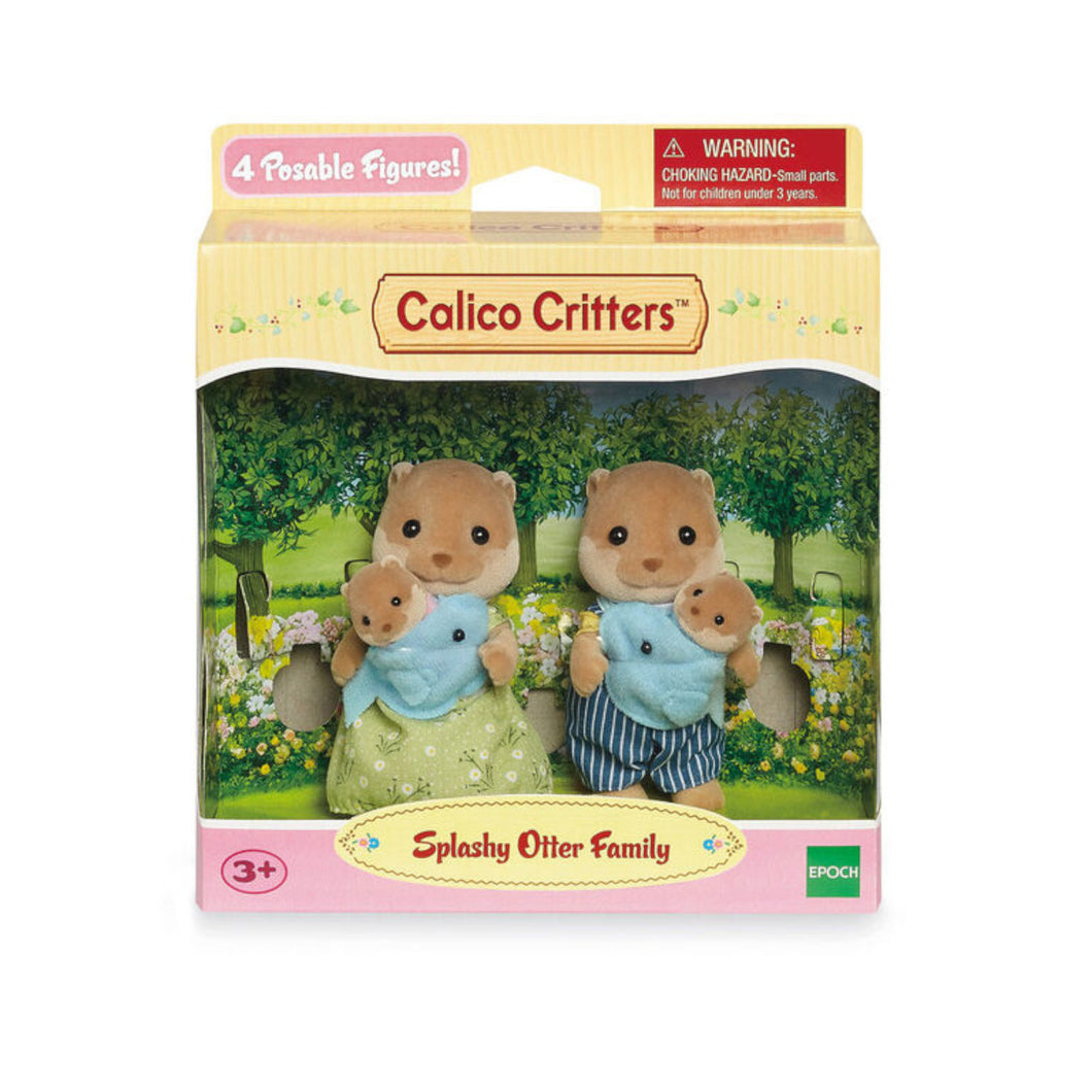 Calico Critters - Splashy Otter Family