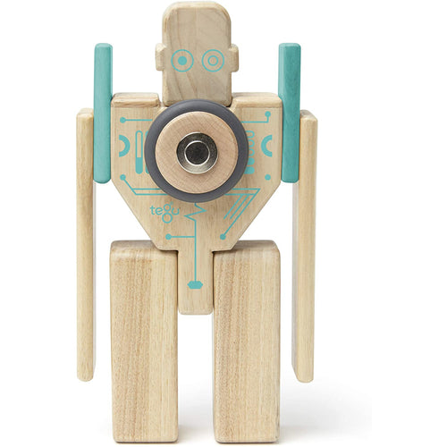 Tegu Wooden Magnetic Blocks - Magbot