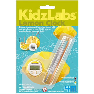 Kidz Labz Lemon Clock