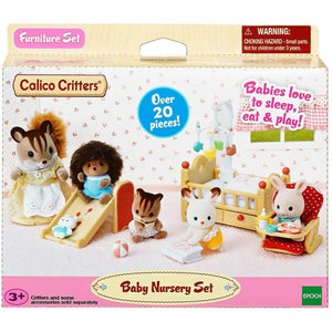 Calico Critters - Baby Nursery Set