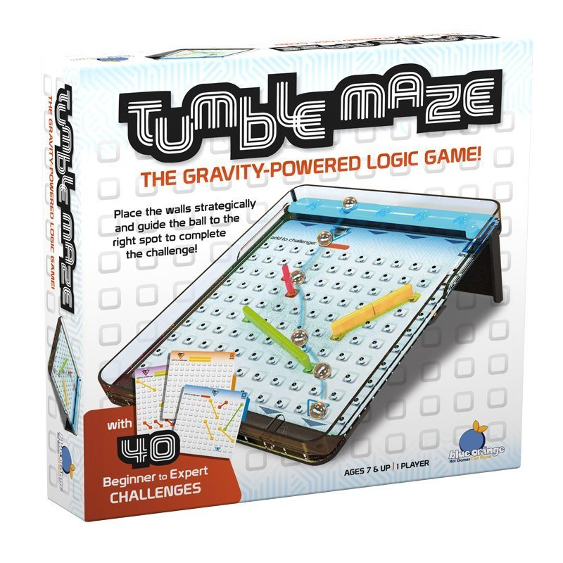 Tumblemaze - The Gravity-Powered Logic Game