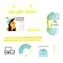 Load image into Gallery viewer, Knitca - Knitting Kit - Make a Chinook Beanie