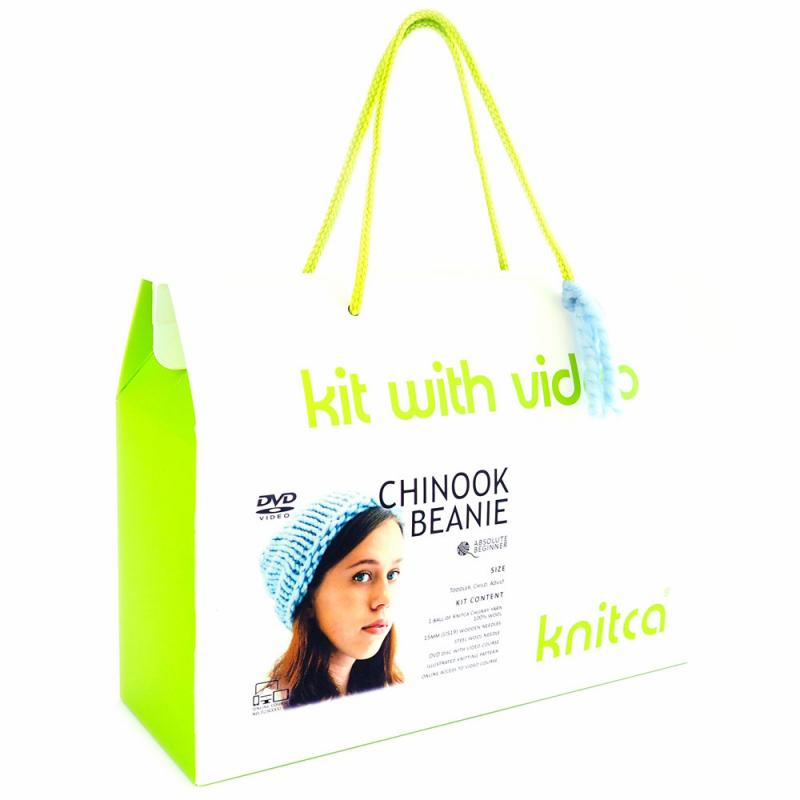 Knitca - Knitting Kit - Make a Chinook Beanie