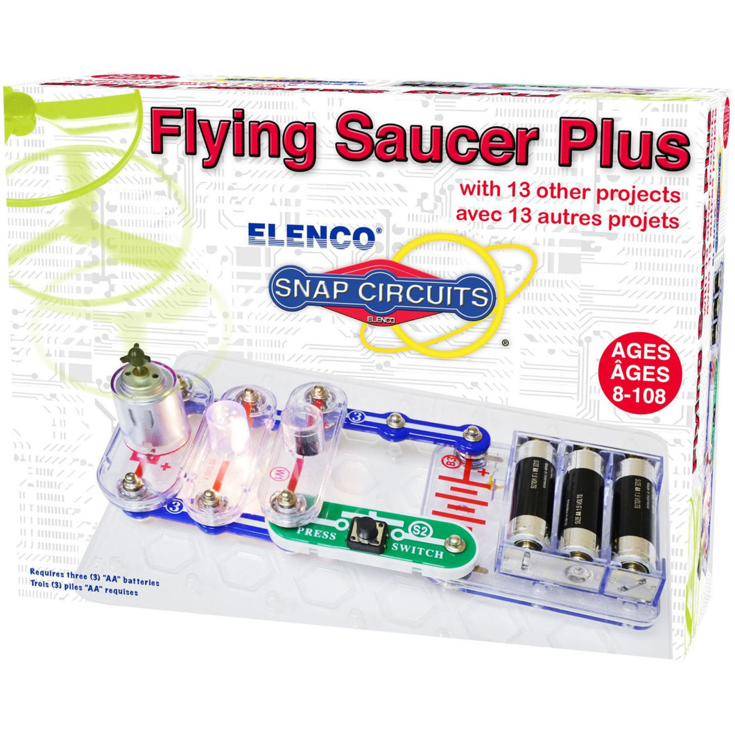 Elenco - Snap Circuits - Flying Saucer Plus
