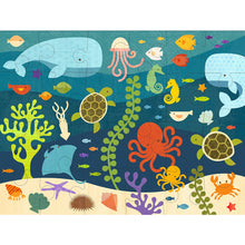 Load image into Gallery viewer, Petit Collage - Puzzle - Ocean Life