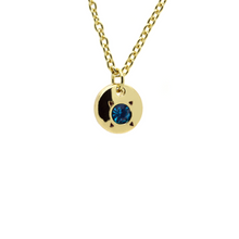 Load image into Gallery viewer, Birthstone Necklace In A Bottle -  December