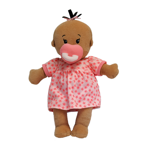Manhattan Toy - Wee Baby Stella - Beige Doll with Brown Hair