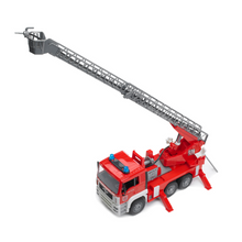 Load image into Gallery viewer, Bruder - MAN Fire Engine with Water Pump with lights and sounds