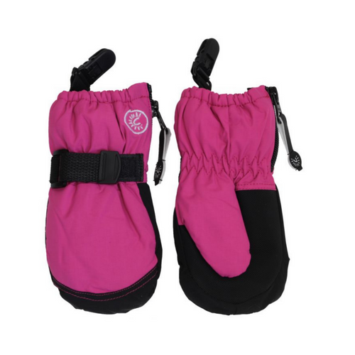 Calikids Waterproof Mittens with Clips - Caberet