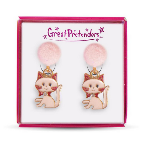 Clip On Earrings - Kitty Kats