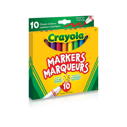 Crayola - Broad Line Markers - 10 pack