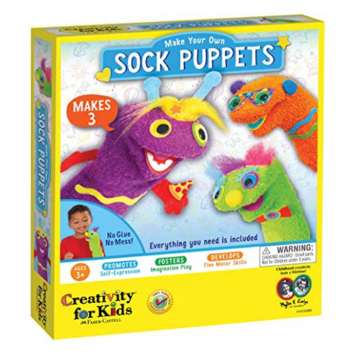 Creativity For Kids - Sock Puppets Kit