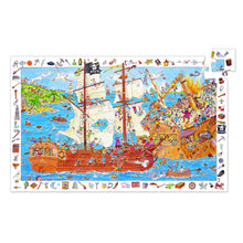 Load image into Gallery viewer, Djeco - Observation Puzzle - 100 Piece - Pirates