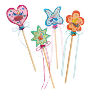 Djeco - Do It Yourself - Magic Wands - Little Fairies