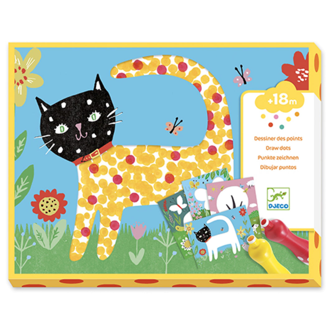 Djeco - Small Dots Painting Kit