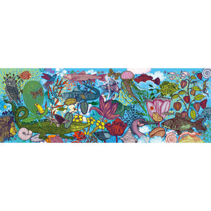 Djeco - 1000-Piece Gallery Puzzle - Land and Sea