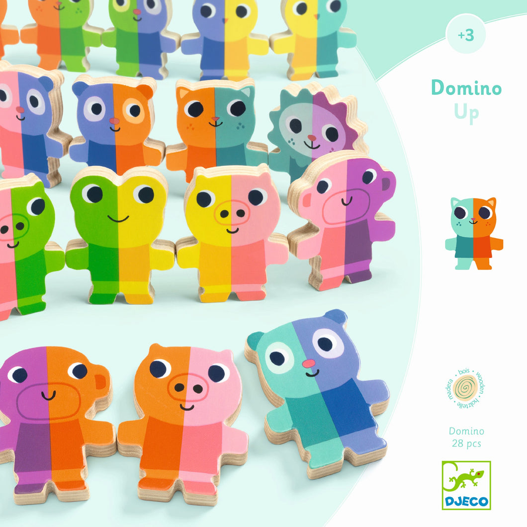 Djeco - Domino Up Game