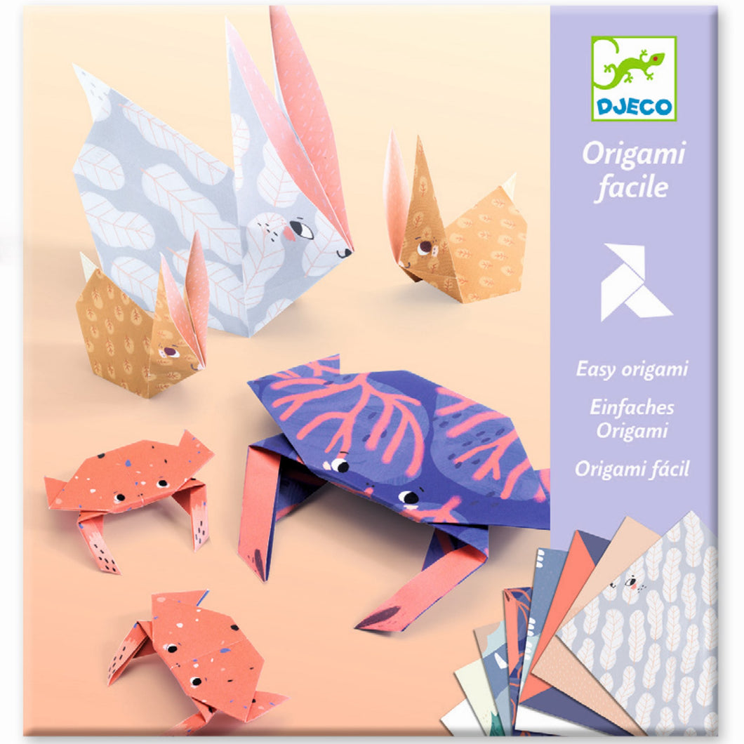 Djeco - Easy Origami - Animal Families