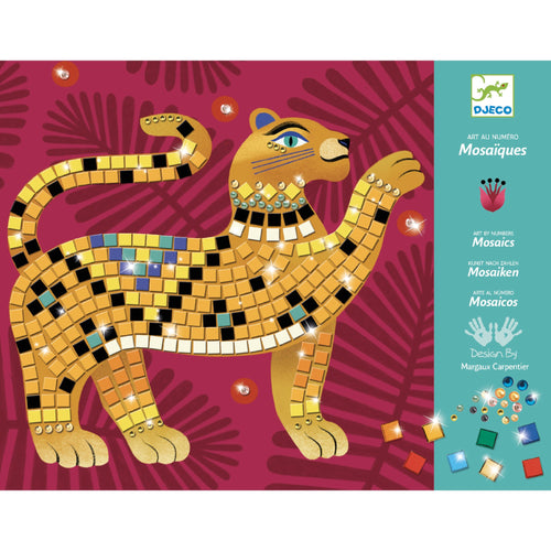 Djeco - Sticker Mosaic - Deep in the Jungle Art Kit