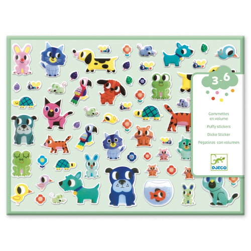 Djeco - Stickers - My Little Friends