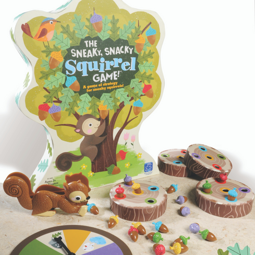 Educational Insights - Sneaky Snacky squirrel Game