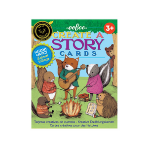 Eeboo - Create a Story Cards - Animal Village