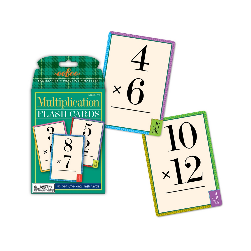 Eeboo - Multiplication Flash Cards