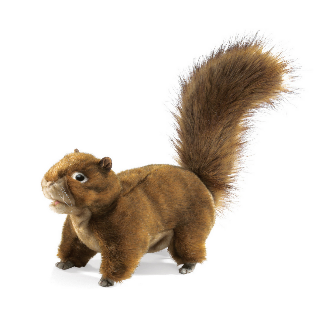 Folkmanis - Red Squirrel Puppet