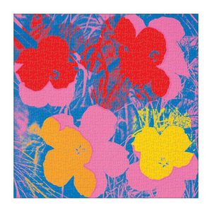 Galison - 500 Piece Puzzle - Andy Warhol Flowers