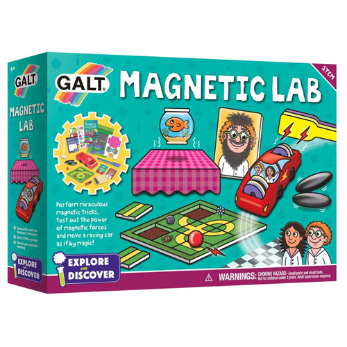 Galt - Explore and Discover Magnetic Lab Science Experiment Kit