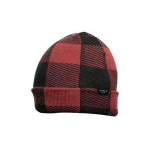 Dozer- Beanie Winter Hat - Bale- Red