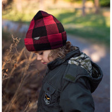 Load image into Gallery viewer, Dozer- Beanie Winter Hat - Bale- Red