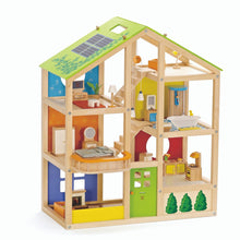 Load image into Gallery viewer, Hape - All Season Dollhouse - Furnished