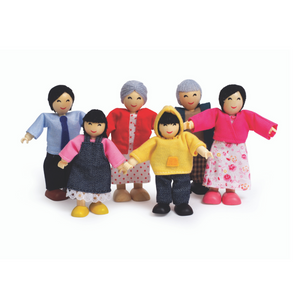 Hape - Asian Happy Doll Family
