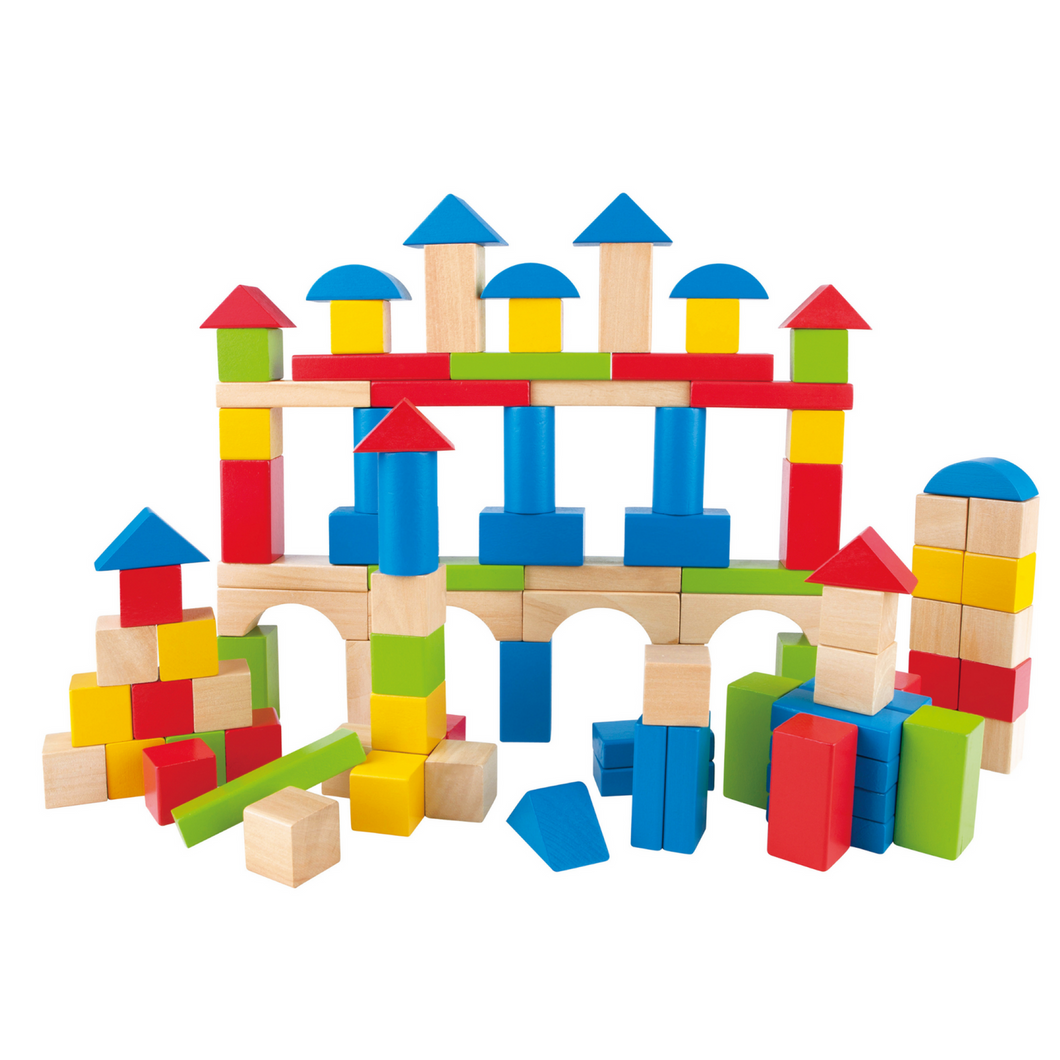 Hape - Build Up and Away Blocks