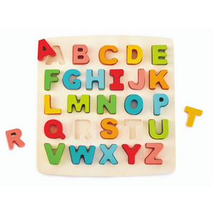 Hape - Chunky Alphabet Wooden Puzzle