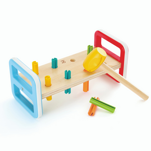 Hape - Rainbow Pounder Bench