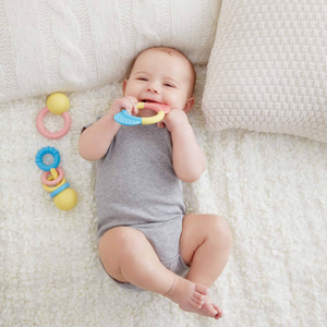 Hape - Rattle & Teether 3 Piece Collection
