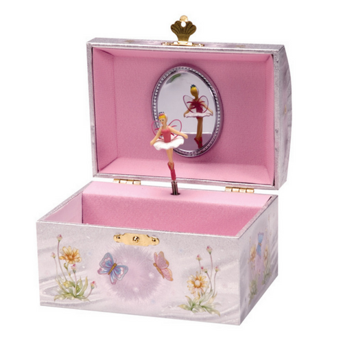 Iridescent Fairy Musical Jewellery Box
