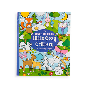 Colour-in Book - Little Cozy Critters Colouring Book