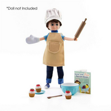 Load image into Gallery viewer, Lottie Doll - Cake Bake Outfit