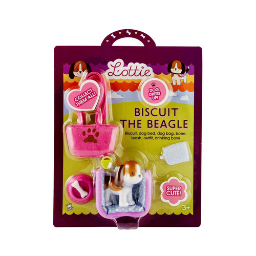 Lottie Dolls - Biscuit the Beagle