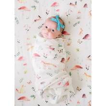 Load image into Gallery viewer, Loulou Lollipop Swaddle - Woodland Gnome