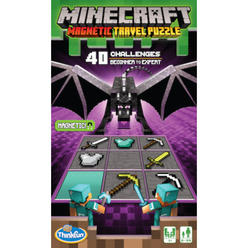 ThinkFun - Minecraft Magnetic Travel Puzzle