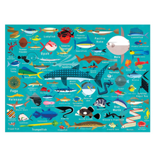 Load image into Gallery viewer, Mudpuppy - 1000 Piece Family Puzzle - Ocean Life
