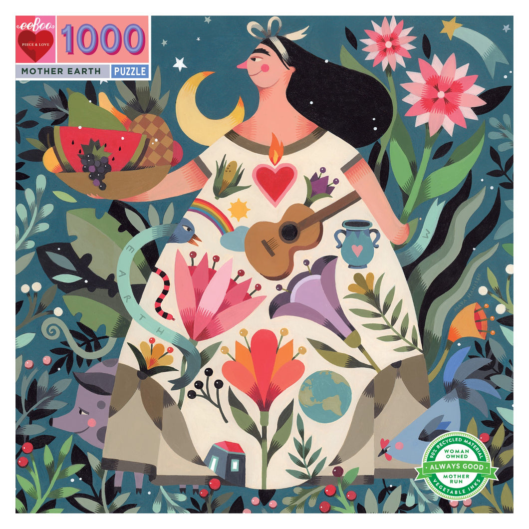 Eeboo - 1000 Piece Puzzle - Mother Earth