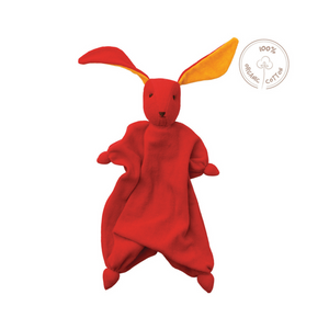 Peppa/Hoppa - Organic Bonding Bunny Doll - Red