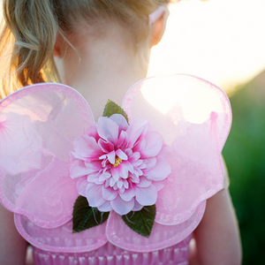 Pink Blossom Fairy Wings