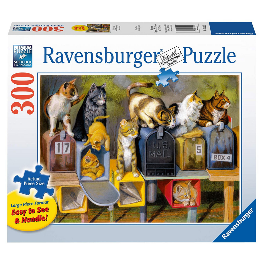 Ravensburger Puzzle - 300 Piece - Cat's Got Mail